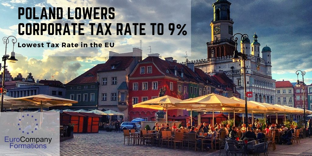 Poland matches lowest tax rate in EU